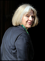 Theresa May arrives at the Leveson Inquiry at the High Court, London, Tuesday May 29, 2012 Photo By Andrew Parsons/i-Images