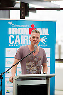 Ricky Jeffs (Urban Hotels). Pre Race Press Conference. 2012 Ironman Cairns Triathlon. Salt House Restaurant, Cairns, Queensland, Australia. 31/05/2012. Photo By Lucas Wroe.