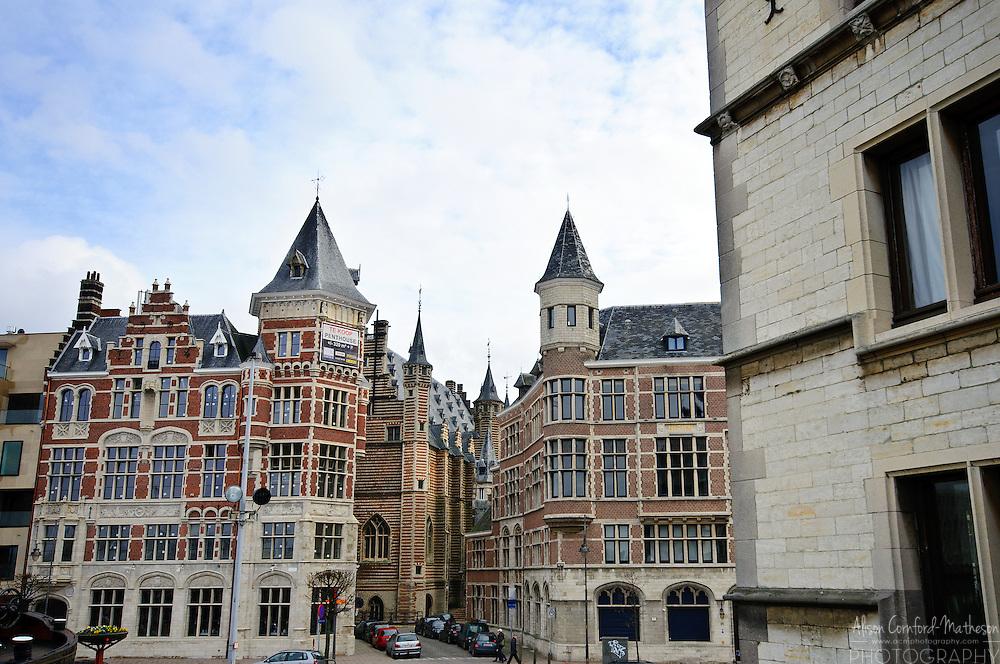 Flemish Architecture in Antwerp, Belgium