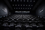 "The Dallas Cowboys theater in their new headquarters in Frisco, Texas on August 23, 2016. ""CREDIT: Cooper Neill for The Wall Street Journal""<br /> TX HS Football sponsorships"