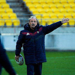 France head coach Jacques Brunel. France Captain's Run at Westpac Stadium in Wellington, New Zealand on Friday, 15 June 2018. Photo: Dave Lintott / lintottphoto.co.nz