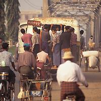 Bago(pegu) city scene.