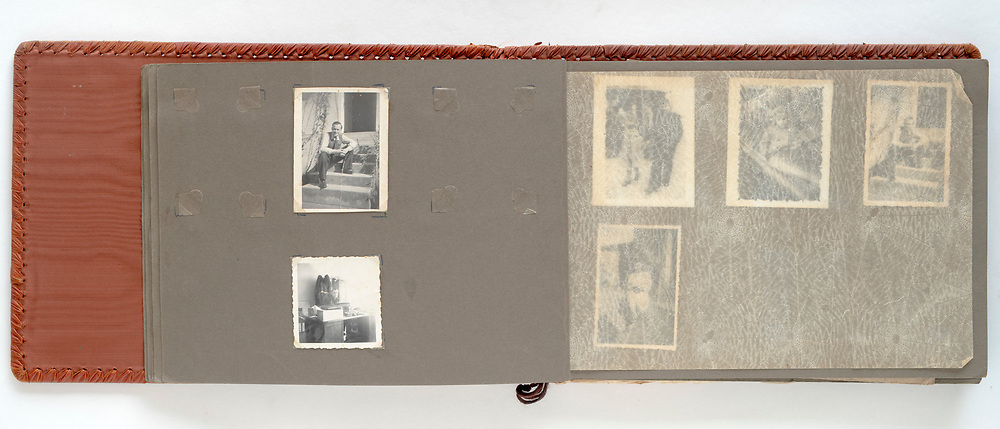 family photo album France 1950s