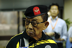 August 9, 2016 - Former president of the Filippines, Fidel Valdez Ramos (88) at the press conference held by Consulate General of the Philippines in Hong Kong. Aug 9, 2016. Hong Kong. Liau Chung Ren/ZUMA (Credit Image: © Liau Chung Ren via ZUMA Wire)