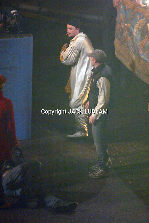 HEATH LEDGER LAST   PHOTOS taken  on set  before his death <br />