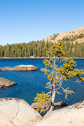 """White Rock Lake 6"" - Photograph of the Tahoe backcountry lake called White Rock Lake."