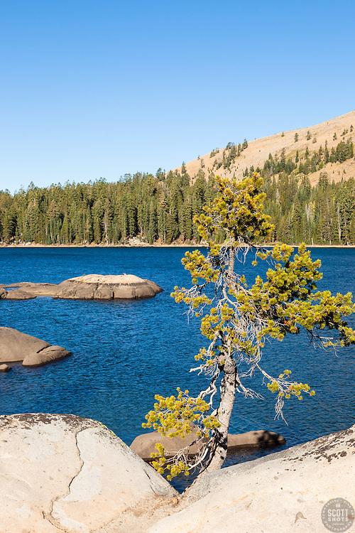 """White Rock Lake 6"" - Photograph of the Tahoe backcountry lake called White Rock Lake."