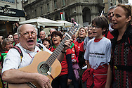 Milano, 25 aprle 2015. 70esimo anniversario della Liberazione.