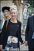 BASIA BRIGGS; RUTH POWYS, Memorial service for Mark Shand.  . St. Paul's Knightsbridge. September 11 2014.