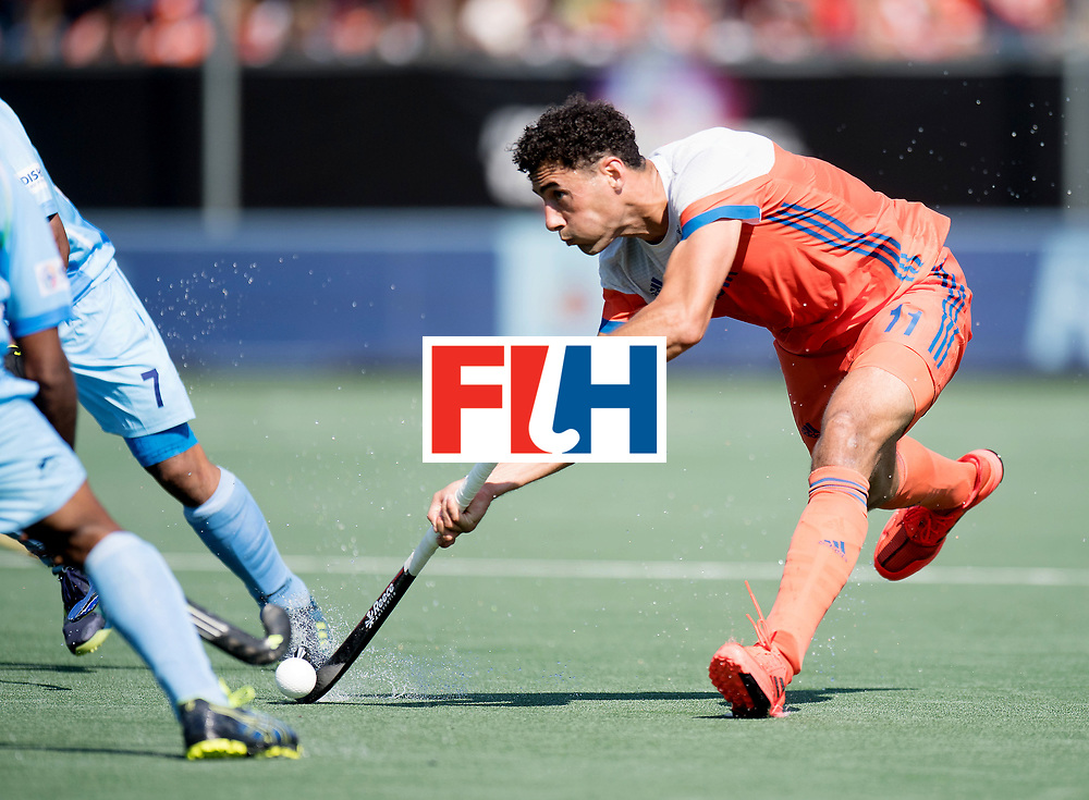 BREDA - Rabobank Hockey Champions Trophy<br /> The Netherlands - India<br /> Photo: Glenn Schuurman.<br /> COPYRIGHT WORLDSPORTPICS FRANK UIJLENBROEK