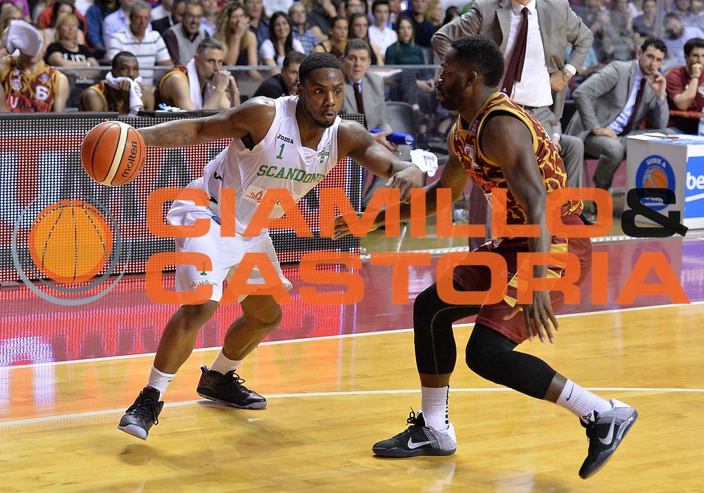 Venezia 04 Maggio 2016 - Campionato Basket Lega A Umana Reyer Venezia vs Sidigas Avellino - Foto Ciamillo/Michele Gregolin<br /> Nella Foto: Joe Regland