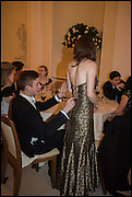 LOUIS MADDISON; BETSY GLASGOW, Oxford University Polo club Ball, Blenheim Palace. Woodstock. 6 March 2015