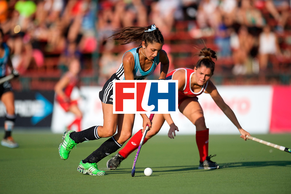 SANTIAGO - 2016 8th Women's Hockey Junior World Cup<br /> ARG v USA (QF)<br /> foto: <br /> FFU PRESS AGENCY COPYRIGHT FRANK UIJLENBROEK