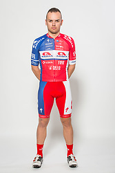 Dusan Rajovic during photo session of Cycling Team KK Adria Mobil, on January 22, 2018 in Novo Mesto, Novo Mesto, Slovenia. Photo by Vid Ponikvar / Sportida