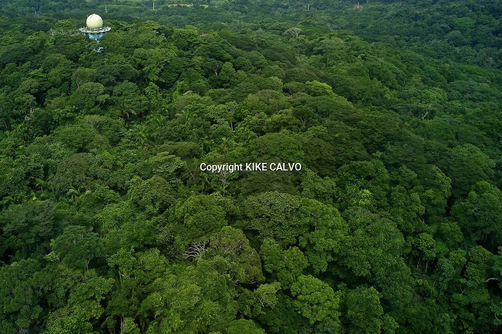 Canopy Tower Birdwatching Eco Lodge. Soberania National Park. Panama.