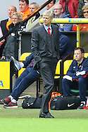 Arsenal Manager Arsene Wenger during the Barclays Premier League match at Carrow Road, Norwich<br /> Picture by Paul Chesterton/Focus Images Ltd +44 7904 640267<br /> 11/05/2014