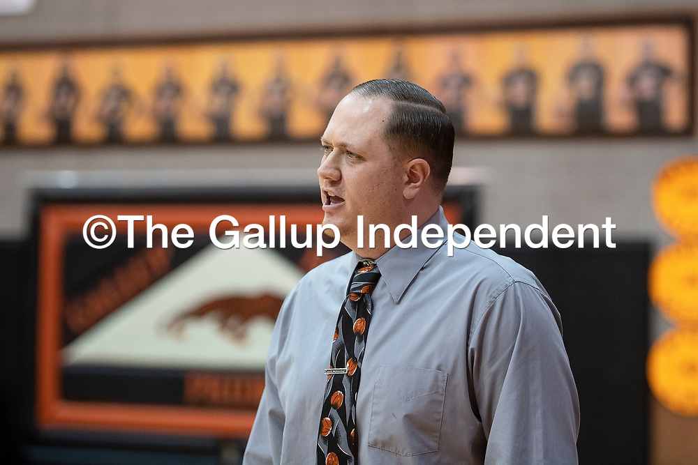 Gallup girls basketball coach