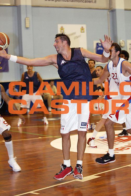 DESCRIZIONE : Moncalieri Precampionato Lega A1 2006-07 Trofeo Citta di Moncalieri Cska Mosca Angelico Biella<br /> GIOCATORE : Frosini <br /> SQUADRA : Angelico Biella <br /> EVENTO : Precampionato Lega A1 2006-2007 Trofeo Citta di Moncalieri <br /> GARA : Cska Mosca Angelico Biella <br /> DATA : 15/09/2006 <br /> CATEGORIA : Rimbalzo <br /> SPORT : Pallacanestro <br /> AUTORE : Agenzia Ciamillo-Castoria/G.Cottini