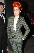 15.SEPTEMBER.2013. LONDON<br /> <br /> PALOMA FAITH ATTENDS THE VIVIENNE WESTWOOD LFW CATWALK SHOW.<br /> <br /> BYLINE: EDBIMAGEARCHIVE.CO.UK<br /> <br /> *THIS IMAGE IS STRICTLY FOR UK NEWSPAPERS AND MAGAZINES ONLY*<br /> *FOR WORLD WIDE SALES AND WEB USE PLEASE CONTACT EDBIMAGEARCHIVE - 0208 954 5968*