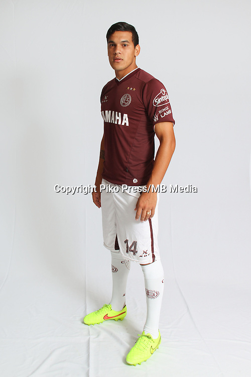 CAMPEONATO ARGENTINO Soccer / Football. <br /> LANUS Portraits <br /> Bs.As. Argentina. - March 12, 2015<br /> Here Lanus player Gustavo Gomez<br /> &copy; PikoPress