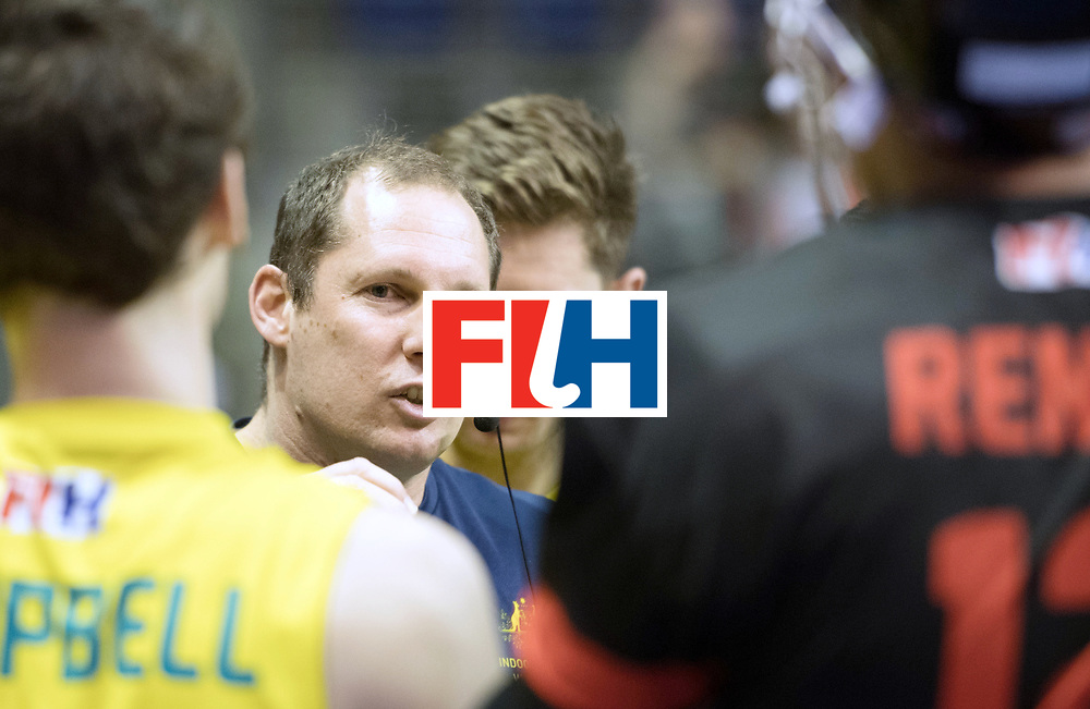 BERLIN - Indoor Hockey World Cup<br /> SF2 Australia - Austria<br /> foto: WILLER Steve<br /> WORLDSPORTPICS COPYRIGHT FRANK UIJLENBROEK