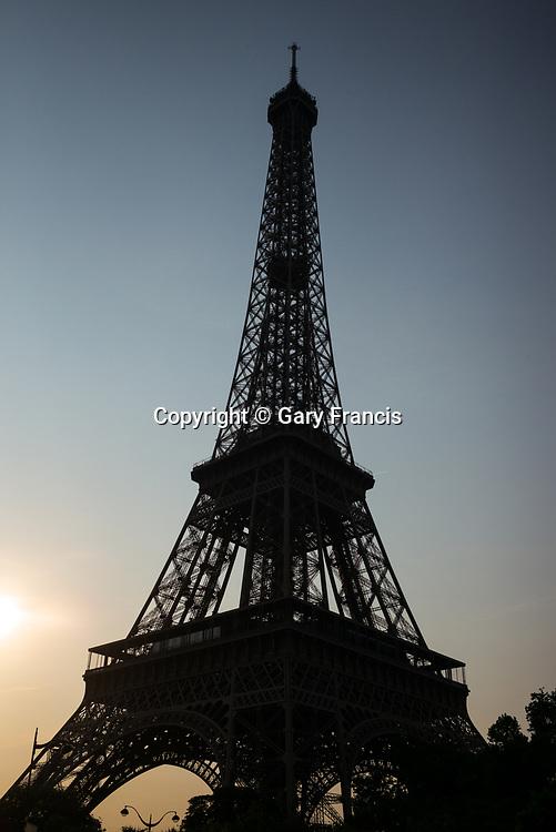 Paris city images taken in June 2017, Paris, France