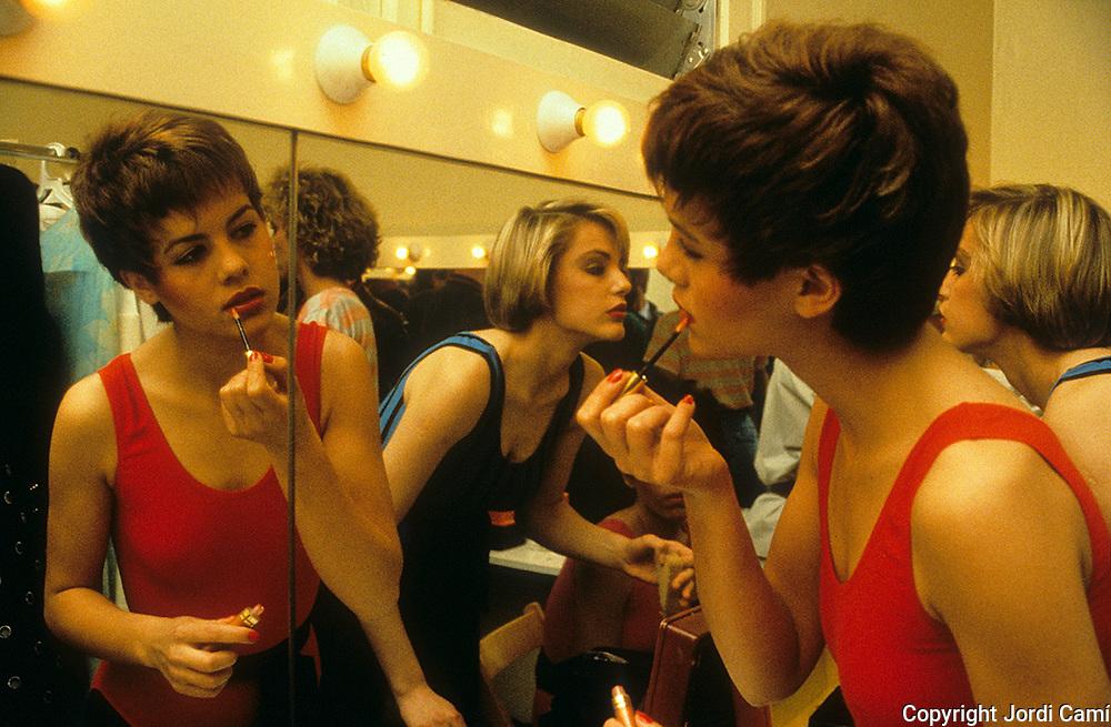Escola de models.Barcelona. Anys '80.