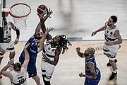 Ed Daniel e Andrea Zerini <br /> Germani Basket Brescia - Pompea Fortitudo Bologna <br /> LBA Final Eight 2020 Zurich Connect<br /> Quarti di Finale<br /> Pesaro, Italia - 14 February 2020<br /> Foto Mattia Ozbot / CiamilloCastoria