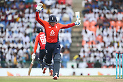 Jason Roy during the One Day International match between Sri Lanka and England at Pallekele International Cricket Stadium, Pallekele, Sri Lanka on 20 October 2018.