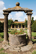 ITALY, Bolgheri (LI)<br /> An old well at Tenuta San Guido