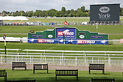The Winning Post at York Racecourse at the York Dante Meeting at York Racecourse, York, United Kingdom on 17 May 2018. Picture by Mick Atkins.