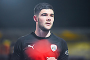 Alex Mowatt of Barnsley (27) warming up during the EFL Sky Bet League 1 match between Doncaster Rovers and Barnsley at the Keepmoat Stadium, Doncaster, England on 15 March 2019.
