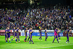 Players of Maribor look dejected after the football match between NK Maribor and NK Olimpija Ljubljana in 34th Round of Prva liga Telekom Slovenije 2017/18, on May 19, 2018, in Stadion Ljudski vrt, Maribor, Slovenia. Photo by Vid Ponikvar / Sportida