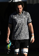 Sam Whitelock.<br /> All Blacks training session at Eden Park ahead of the upcoming test series against France. Auckland, New Zealand. Thursday 7 June 2018. © Copyright photo: Andrew Cornaga / www.Photosport.nz