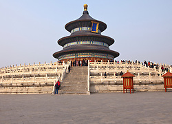 Very ornate and built between 1406-20, the Temple of Heaven is an imperial complex of religious buildings situated in a 660-acre park in the southeastern part of central Beijing. The complex was visited by the Emperors of the Ming and Qing dynasties for annual ceremonies of prayer to Heaven for good harvest.