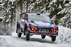 February 15, 2018 - Suede - Thierry Neuville (BEL) – Nicolas Gilsoul (BEL) - Hyundai i20 WRC (Credit Image: © Panoramic via ZUMA Press)