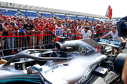 June 21, 2018 - Le Castellet, France - Motorsports: FIA Formula One World Championship 2018, Grand Prix of France, ..Mechanic of Mercedes AMG Petronas Motorsport  (Credit Image: © Hoch Zwei via ZUMA Wire)
