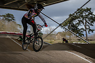#888 (ROJAS Anna Sara) BOL at the 2018 UCI BMX Superscross World Cup in Saint-Quentin-En-Yvelines, France.