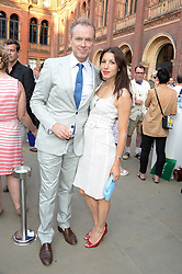 GARY KEMP and LAUREN KEMP at the opening of Club To Catwalk: London Fashion In The 1980's an exhibition at The V&A Museum, London on 8th July 2013.
