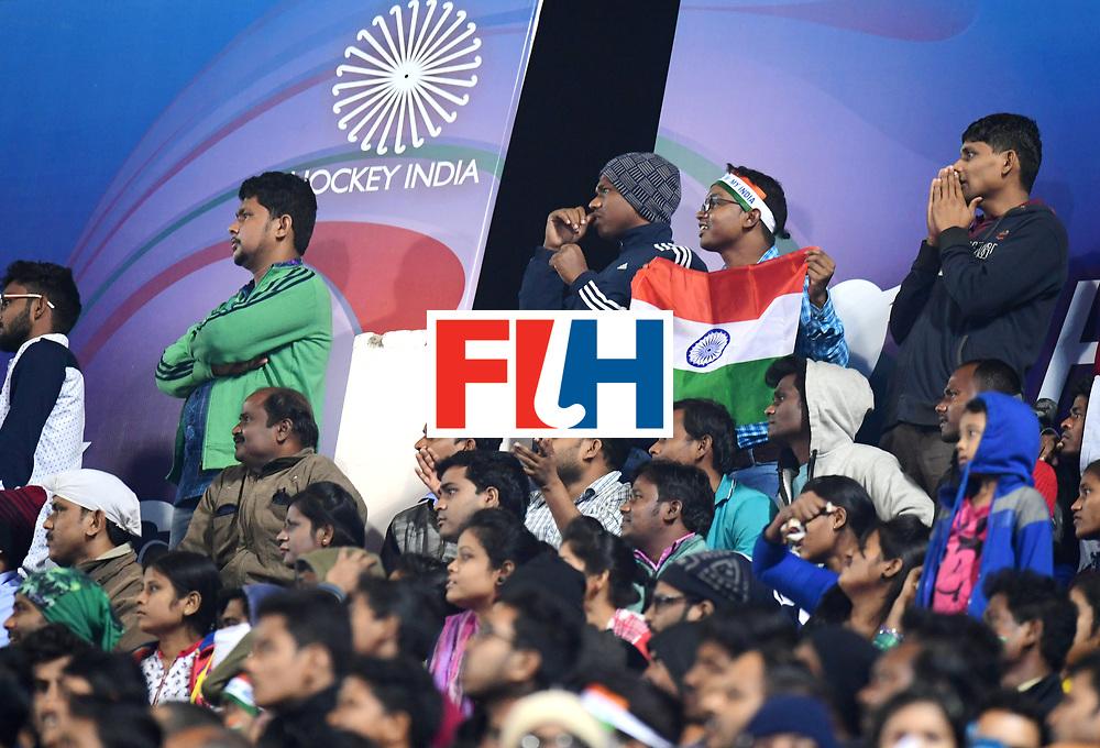Odisha Men's Hockey World League Final Bhubaneswar 2017<br /> Match id:10<br /> India v Germany<br /> Foto: Fans<br /> WORLDSPORTPICS COPYRIGHT FRANK UIJLENBROEK