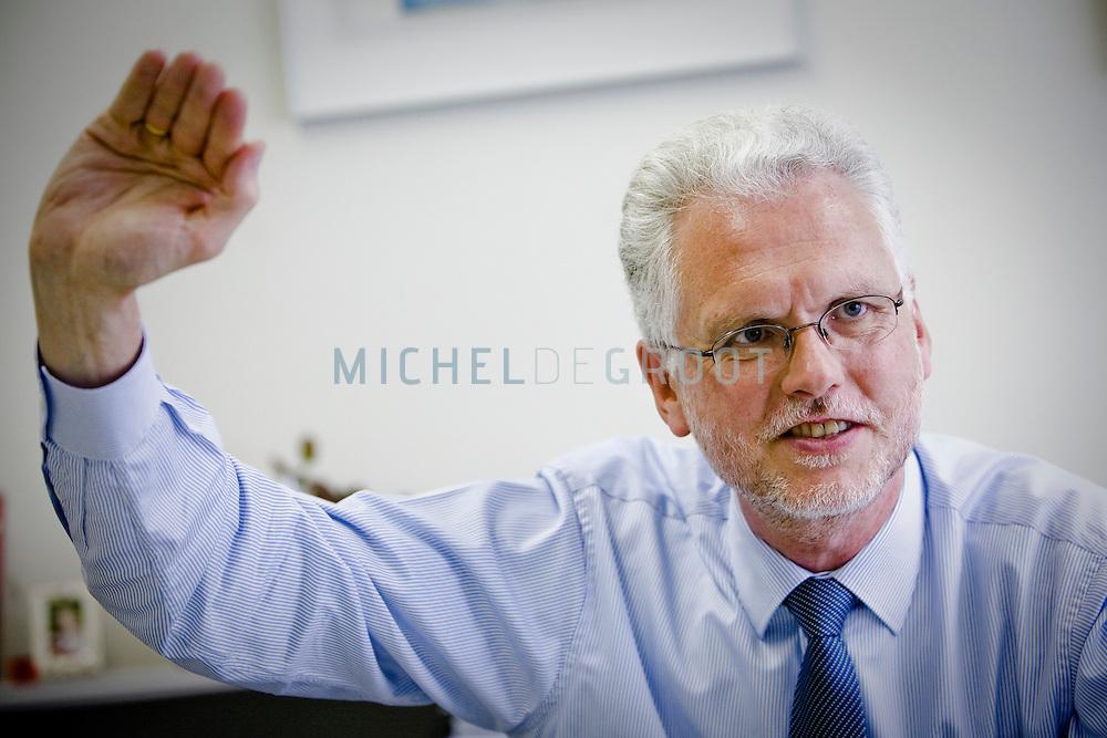Jorgen Elmeskov, Chief economist Oeso in Den Haag, Netherlands op 03 June, 2009. (Photo by Michel de Groot)
