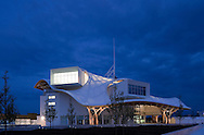 Centre Pompidou-Metz, museum of modern and contemporary art. Architects Shigeru Ban + Jean de Gastines