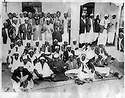 Nubians gather at the homecoming of the first Nubian MP, Yunis Ali at the Kibra Makina Jamia Mosque.