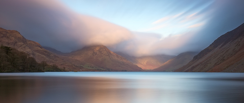 Long exposure of Wastwater after a long day of stormy weather
