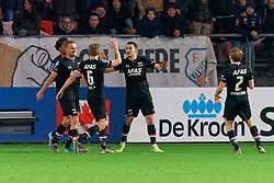 23-11-2019 NED: FC Utrecht - AZ Alkmaar, Utrecht<br /> Round 14 / Oussama Idrissi #11 of AZ Alkmaar scores 2-0
