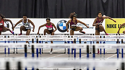 USATF Indoor Track & Field Championships: womens 60 hurdles, Stowers, Castliin