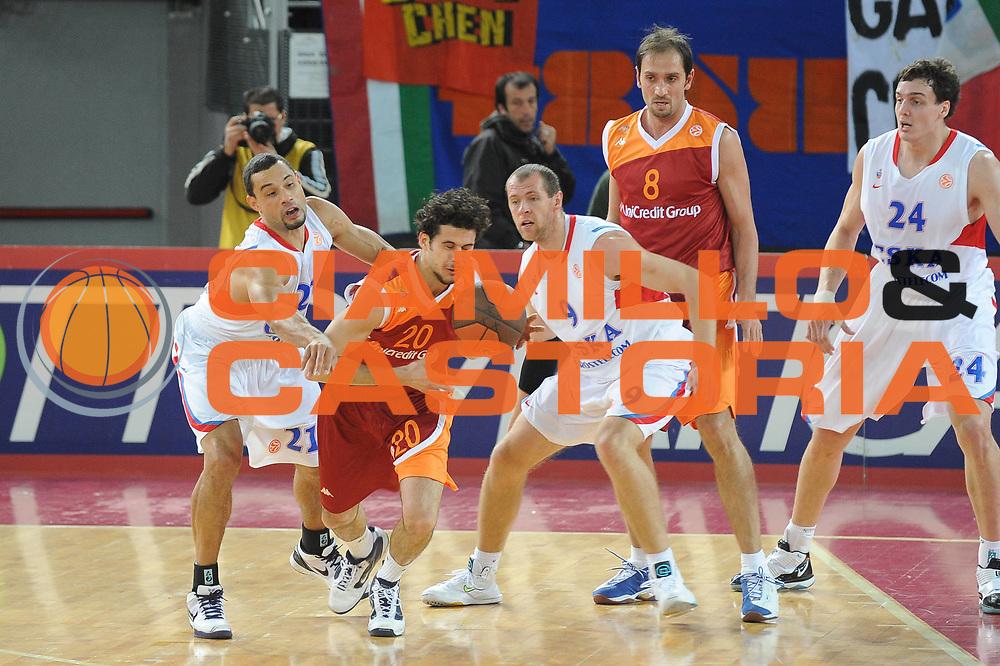DESCRIZIONE : Roma Eurolega 2009-10 Unicredit Group Lottomatica Virtus Roma CSKA Moscow<br /> GIOCATORE : Luca Vitali<br /> SQUADRA : Lottomatica Virtus Roma<br /> EVENTO : Eurolega 2009-2010<br /> GARA : Lottomatica Virtus Roma CSKA Moscow<br /> DATA : 10/12/2009<br /> CATEGORIA : Controcampo<br /> SPORT : Pallacanestro<br /> AUTORE : Agenzia Ciamillo-Castoria/G.Ciamillo<br /> Galleria : Eurolega 2009-2010<br /> Fotonotizia : Roma Eurolega 2009-10 Unicredit Group Lottomatica Virtus Roma CSKA Moscow<br /> Predefinita :