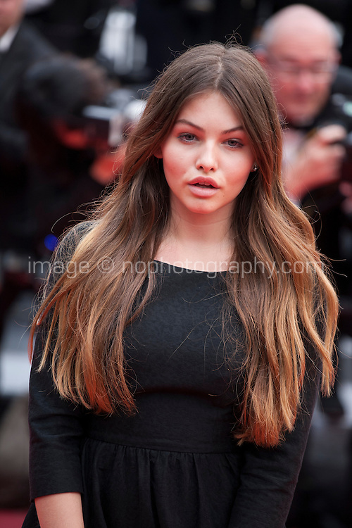 Actress Thylane Blondeau at the gala screening for the film The BFG at the 69th Cannes Film Festival, Saturday 14th May 2016, Cannes, France. Photography: Doreen Kennedy