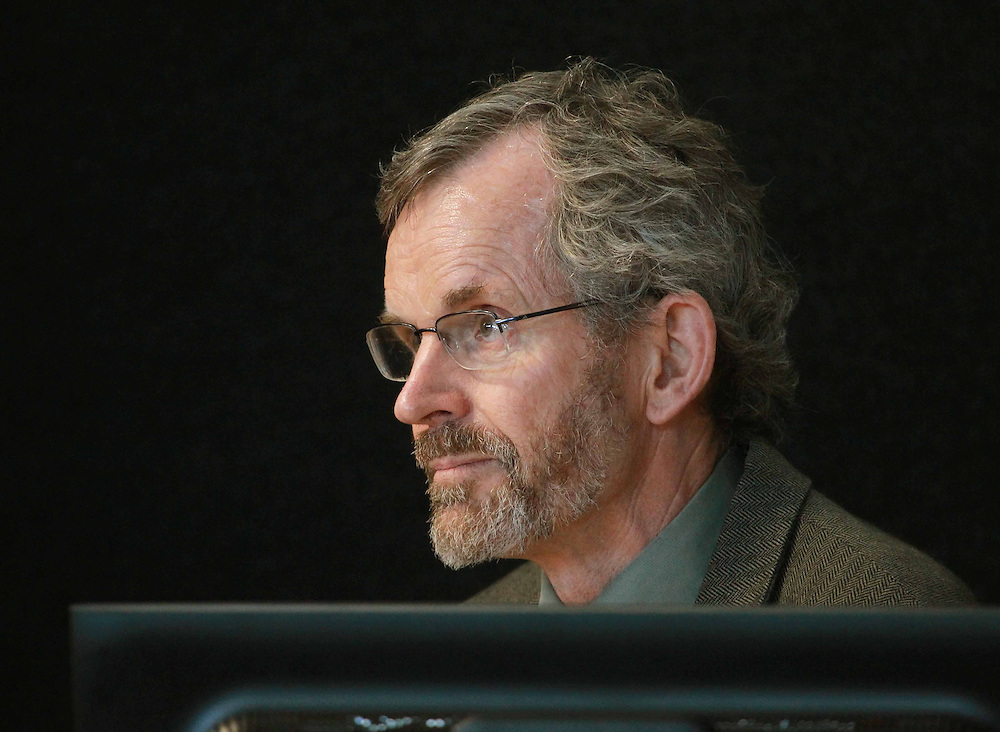 Professor Andy Buchanan, University of Canterbury, delivers his presentation on new technologies in timber buildings at the Earthquake Royal Commission, Christchurch, New Zealand, Tuesday, March 13, 2012. Credit:SNPA / The Press, Dean Kozanic  **POOL**