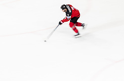 Josh Morrissey of Canada during the 2017 IIHF Men's World Championship group B Ice hockey match between National Teams of Canada and Finland, on May 16, 2017 in AccorHotels Arena in Paris, France. Photo by Vid Ponikvar / Sportida